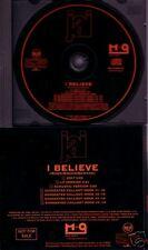 Jai I Believe EDIT & ACOUSTIC VERS PROMO DJ CD Single