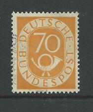 WEST GERMANY # 683 Used NUMERAL POST HORN (2611)