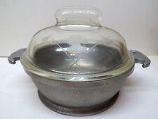 Aluminum Guardian Ware One Quart Pan With Lid Guardianware
