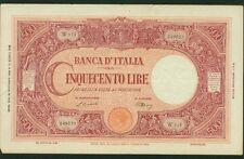 ITALY BANCA D'ITALIA  1946  500 LIRE BANKNOTE, VF/XF, 20.11.46, PICK-70d