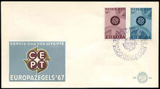 Netherlands 1967 Europa FDC First Day Cover #C27299