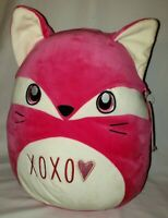 "Squishmallow FERN the Fox Pink Large Jumbo Pillow 16"" Plush Stuffed Animal NWT"