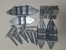 "Garage Door Hinges and Nylon Roller Tune up Kit 9""X7"" or 8""X7"" FREE SHIPPING"