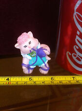 Cabbage Patch Kids 1985 Doll Figure Rare Pink Cat Rag Wool