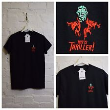Actual Fact Michael Jackson Thriller Embroidered Tee T-shirt