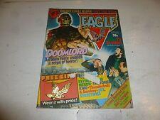 "EAGLE Comic - Issue No 2 - Date 03/04/1982 - Inc ""EAGLE BADGE"" Free Gift"