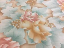 Full Futon Mattress Covers, Washable Cover, Slipcovers 100% Cotton Flower #15