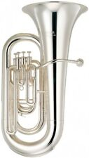YAMAHA YEB-321S Intermediate Eb Tuba 4/4 size Silver-plated Yellow brass /o119