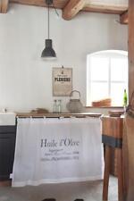 """Nostalgie Gardine, Bistro,Vorhang """"HUILE d´OLIVE"""" 85x140 cm Jeanne d´Arc living"""