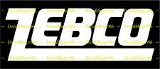 Zebco Fishing Reels & Rods -Outdoors Sports- Vinyl Die-Cut Peel N' Stick Decals