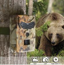 Caméra de chasse, HD 12 MP étanche vision nocturne infrarouge, détection capteur