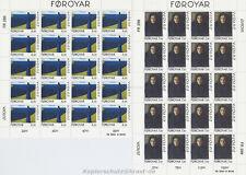 EUROPA CEPT 1996 FRAUEN WOMEN - FÄRÖER FOROYAR 296-97 KLEINBOGEN **