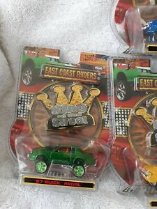 Maisto 87 Buick Regal East coast Ryders 1/64 Rare Green DONK
