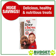 Love em Liver Chew 4 Chew Multi Pack Treats For Dogs