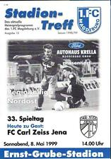 RL 1998/99 1. FC Magdeburg - FC Carl Zeiss Jena, 08.05.1999