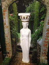 Säule Antik Designe Frau Säulen Blumensäule 100 cm Barock Ständer 1006-108