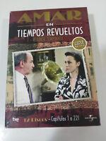 AMAR EN TIEMPOS REVUELTOS SEGUNDA TEMPORADA 2 COMPLETA SERIE TV - 12 DVD - 5T