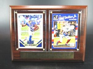 Odell Beckham Jr. New York Giants Wood Wall Picture 20 CM, Plaque NFL Football,