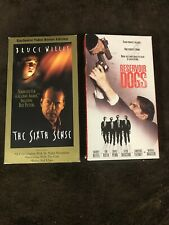 The Sixth Sense & Resevoir Dogs Vhs Movies