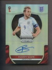 2018 Panini Silver Prizm FIFA World Cup Soccer Harry Kane AUTO 4/25 England