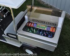 Refreshment Concession Center For Club Car CarryAll 2 Golf Carts