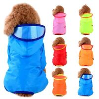 Pet Dog Raincoat Puppy Waterproof Jacket Hooded Raincoat Pet Waterproof/