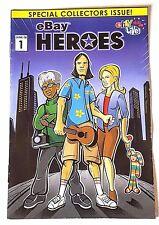 2008 eBay Live Miniature Heroes Comic Book RARE - Very Hard to Find