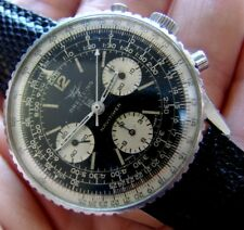 MONTRE WATCH BREITLING NAVITIMER LIP 806 VENUS 178 AVIATEUR IN BOX VINTAGE