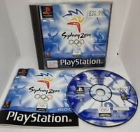 Sydney Olympics 2000 Sony PlayStation 1 PS1 PSOne Complete PAL Black Label
