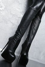 Elegante Damenstiefel & -Stiefeletten aus Echtleder in EUR 37