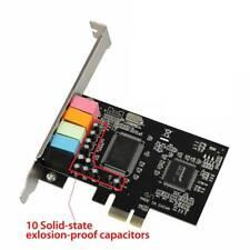 PCI Express PCI-E 5.1 Ch 6 Channel PCIE Audio Digital Sound Card Adapter Adaptor