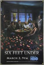 SIX FEET UNDER ROLLED ORIG 1SH HBO TV PROMO POSTER MICHAEL C. HALL (2003)
