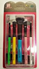 5 PCS Kabuki estilo profesional Maquillaje Pincel de Colorete Polvo Facial wimasum UK