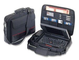 """Targus 15.4"""" Notepac Laptop Notebook Carry Case Shoulder Bag CN01 Vintage"""