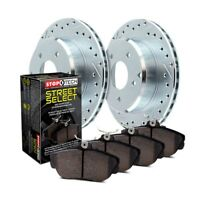 For Honda Civic 13-18 StopTech Select Sport Drilled & Slotted Front Brake Kit