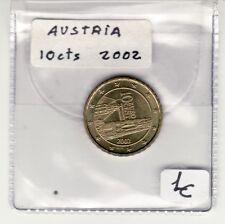 MONEDA  EUROS AUSTRIA 2002 10 Céntimos de Euro. Sin Circular
