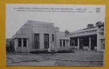 AD16) CPA Exposition Arts Décoratifs Paris 1925 pavillon du Collectionneur