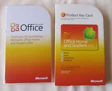GENUINE Microsoft Office 2010 Home and Student, 79G-02020, Word Excel PowerPoint