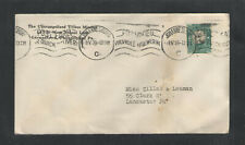 1939 South Africa Unevangelized Tribes Mission Germantown Philadelphia Pa Cover