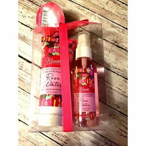 New Bloom by Olivia Grace Body Care Collection ROSE WATER Jojoba Oil Vit E 144.7