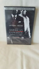 American Gangster DVD, 2007 ) Unrated Extended Edition ~ Factory Sealed