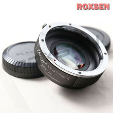 ZHONGYI LENS TURBO II RIDUTTORE FOCALE Adattatore Canon EOS Mount per Fujifilm X FX T1