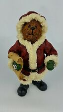 Boyds Bears Shoe Box S.C. Kringlebeary 2E #3244 Figurine Vintage Christmas