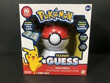 Pokémon Trainer Guess Kanto Edition Electronic Guessing Game Zanzoon NEW