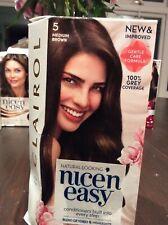 Clairol Nice'n Easy Permanent Hair Dye NO 5 MEDIUM BROWN