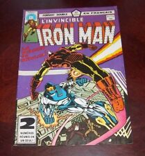 Editions Heritage Invincible Iron Man # 111/112 1983 French Edition Black White