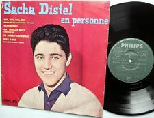 "Sacha Distel 10"" LP EN PERSONNE Philips French import"