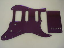 Purple Mirror pickguard set HSS Fits Fender Strat Stratocaster