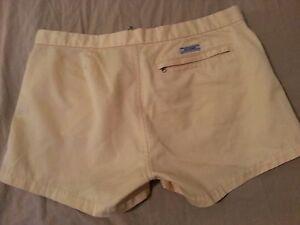 Womens Abercrombie & Fitch Khaki Shorts 4 Chino Cotton