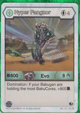 BAKUGAN Battle Brawlers Planet HYPER FANGZOR  EVO Character Card B1000 220/_AR/_BB